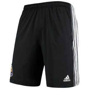 Men's Orlando City SC adidas Black Left Leg Embroidered Performance Shorts