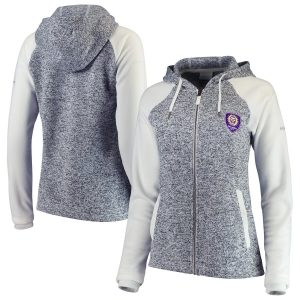 Orlando City SC Columbia Women's Darling Days Full-Zip Jacket – White