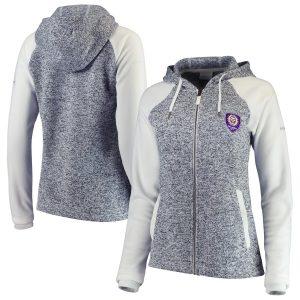 Orlando City SC Columbia Women's Darling Days Full-Zip Jacket – White