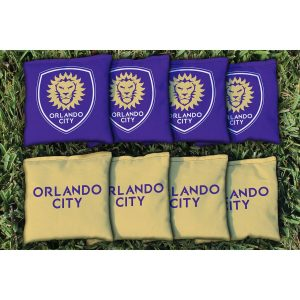 Orlando City SC Cornhole Kernel-Filled Game Bag Set