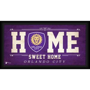 Orlando City SC Fanatics Authentic Framed 10″ x 20″ Home Sweet Home Collage