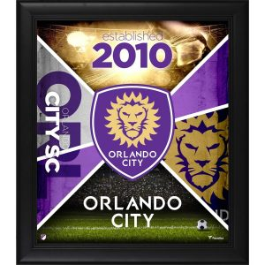 Orlando City SC Fanatics Authentic Framed 15″ x 17″ Team Impact Collage
