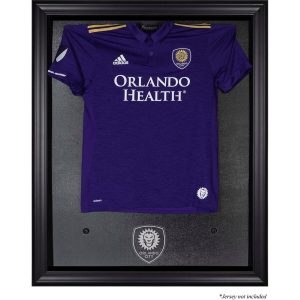 Orlando City SC Fanatics Authentic Framed Black Team Logo Jersey Display Case