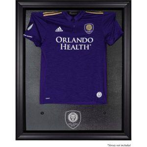 Orlando City SC Fanatics Authentic Framed Black Team Logo Jersey Display Case