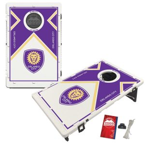 Orlando City SC Vintage Design BAGGO Bean Bag Toss Game