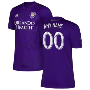 Orlando City SC adidas 2019 Bring The Noise Replica Custom Jersey – Purple