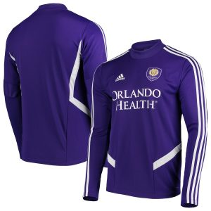 Orlando City SC adidas 2019 Long Sleeve Training Jersey – Purple