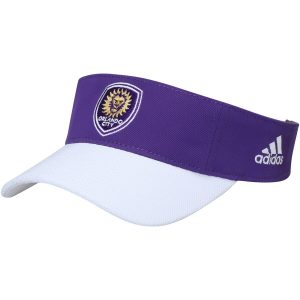 Orlando City SC adidas Authentic Adjustable Visor