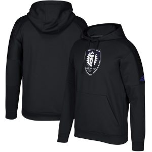 Orlando City SC adidas Team Tone climawarm Pullover Hoodie – Black