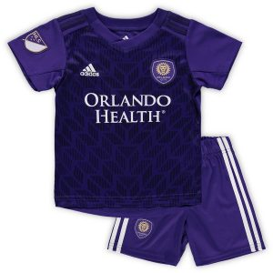Orlando City SC adidas Toddler 2019 Primary Kit – Purple