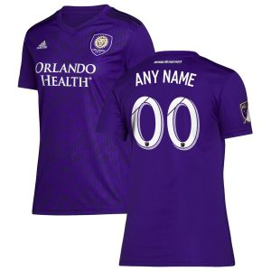 Orlando City SC adidas Women's 2019 Bring The Noise Replica Custom Jersey – Purple