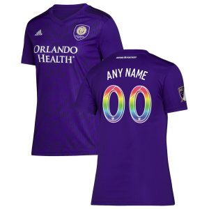 Orlando City SC adidas Women's 2019 Pride Night Replica Custom Jersey – Purple