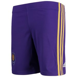 Preschool Orlando City SC adidas Purple Primary Fan Shorts