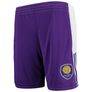 Youth Orlando City SC adidas Purple Fan Shorts