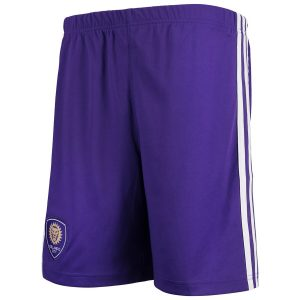 Youth Orlando City SC adidas Purple Fan climacool Shorts
