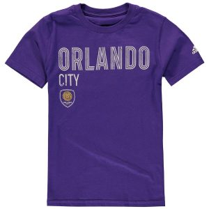 Youth Orlando City SC adidas Purple Triline Locale T-Shirt
