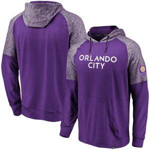 Orlando City SC Raglan Sleeve Pullover Hoodie